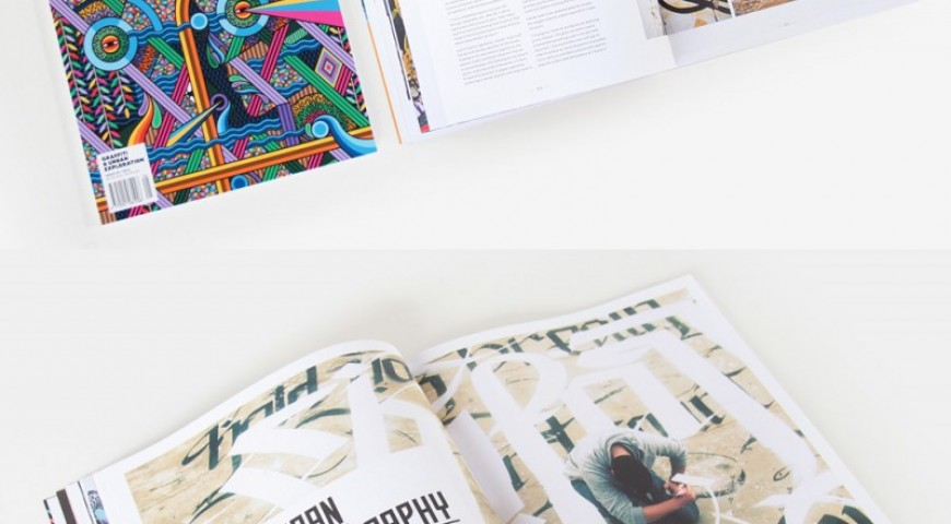 Urban Calligraphy Featured @ No Cure Magazine Australia, Sept 2014 Issue